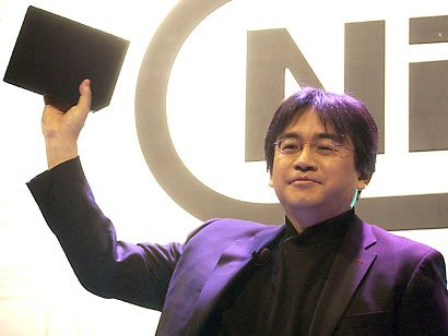 Satoru Iwata revealing the Wii to the World