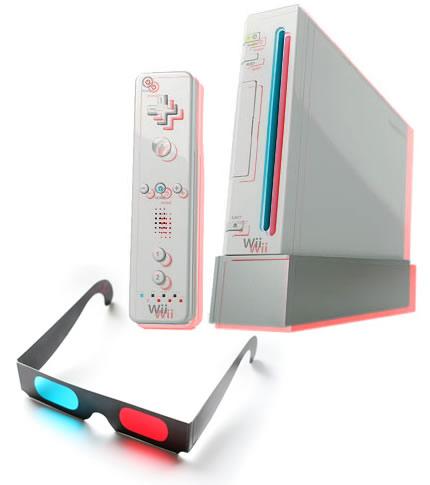 3D Nintendo Wii