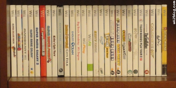 Feld0's Wii game collection