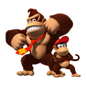 Donkey Kong and Diddy Kong (Donkey Kong Country Returns)