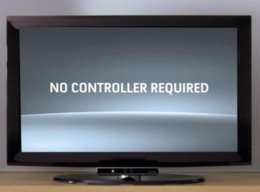 No Controller Required (Kinect)