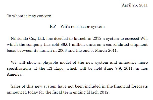 Nintendo PDF screenshot