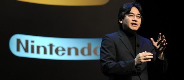 Satoru Iwata at E3