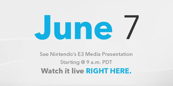 Nintendo E3 Press Conference Live Stream