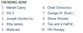Wii 2 trending on Yahoo!