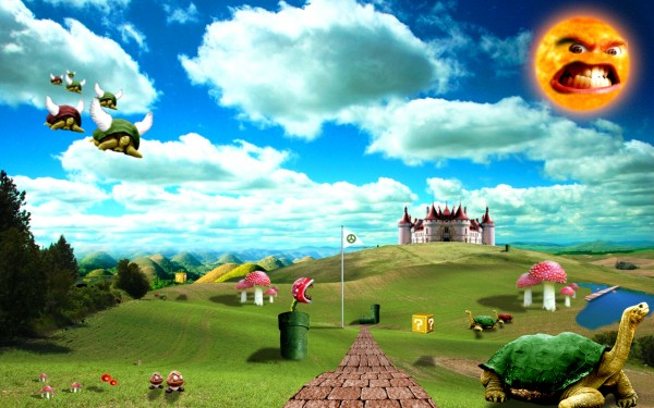 The Real Mushroom Kingdom (credit: HappyRussia, deviantART)