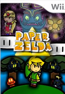 Paper Zelda Boxart