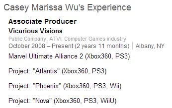 Project Nova Wii U
