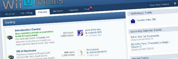Wii U Forums