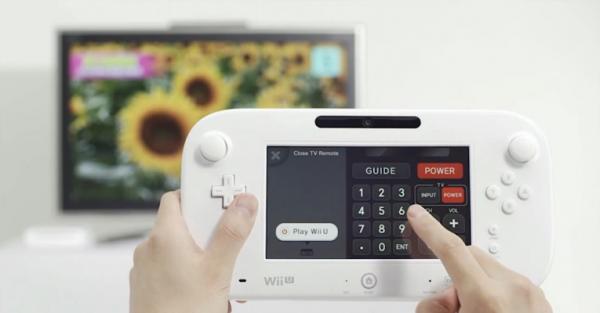Wii U TV Remote