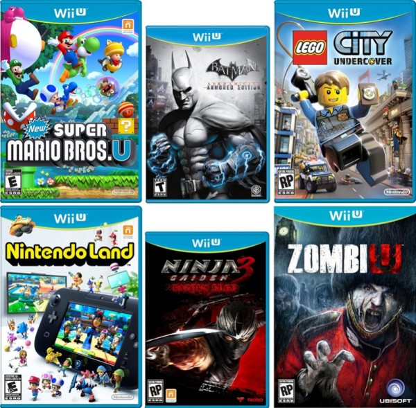 Wii Games List 2012 : The complete list of wii u launch and window titles